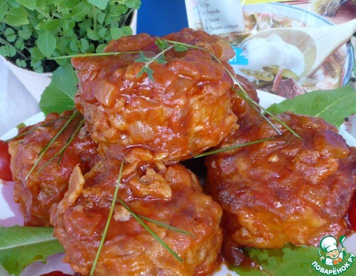 Рецепт: Фаршированный картофель с мясным фаршем Мафрум