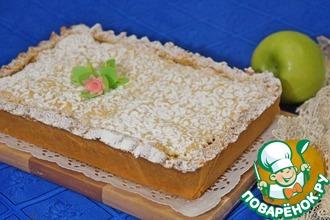 Рецепт: Яблочно-лимонный пирог