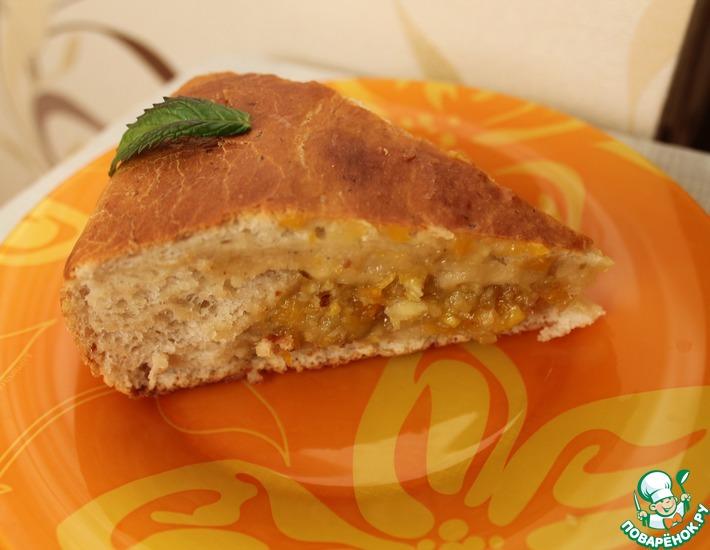 Рецепт: Постный пирог Еще кусочек