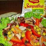 Мясной салат Деревенский