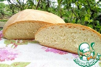 Рецепт: Домашний белый хлеб Любимый
