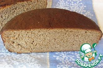 Рецепт: Хлеб ржано-пшеничный заварной