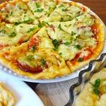 Экономное тесто для пиццы Молния