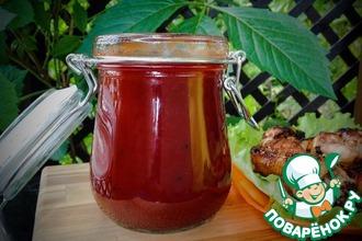 Рецепт: Вишневый соус Барбекю