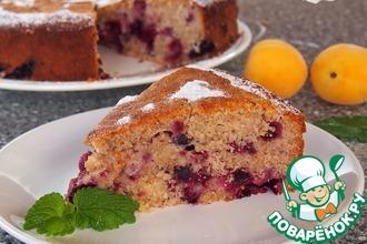 Рецепт: Цельнозерновой ягодный пирог