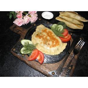 Лепешки с мясом и картофелем