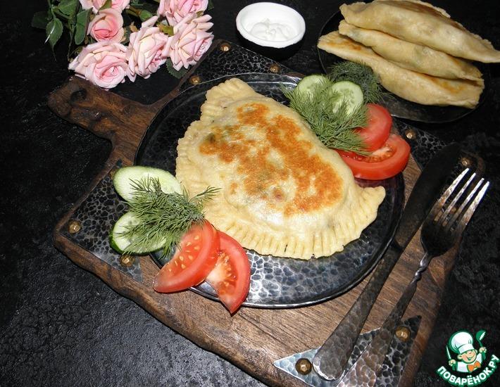 Рецепт: Лепешки с мясом и картофелем