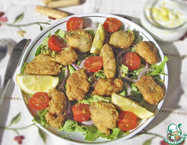 Рецепт: Жареная рыба по-андалусски
