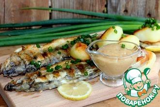 Рецепт: Картофельный соус к рыбе