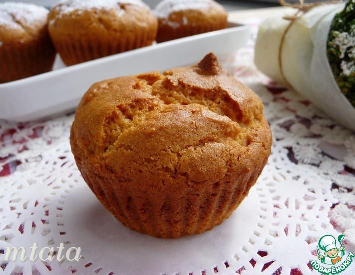 Рецепт: Кексы ореховые с медом