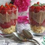 Десерт из клубники Пустяковый