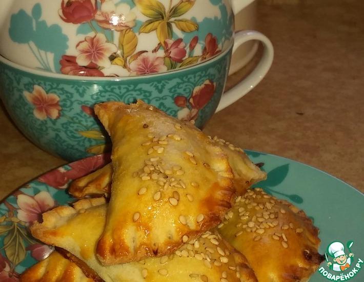 Рецепт: Тесто для аргентинских пирожков Эмпанандас