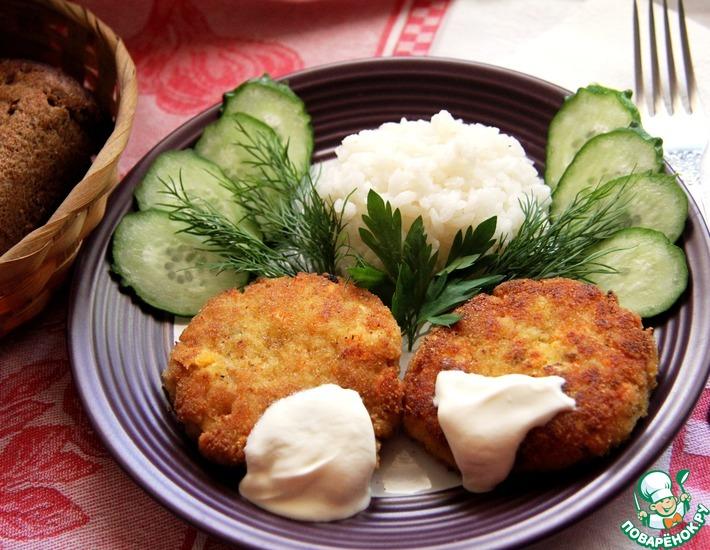 Рецепт: Котлеты рыбные Нижегородские
