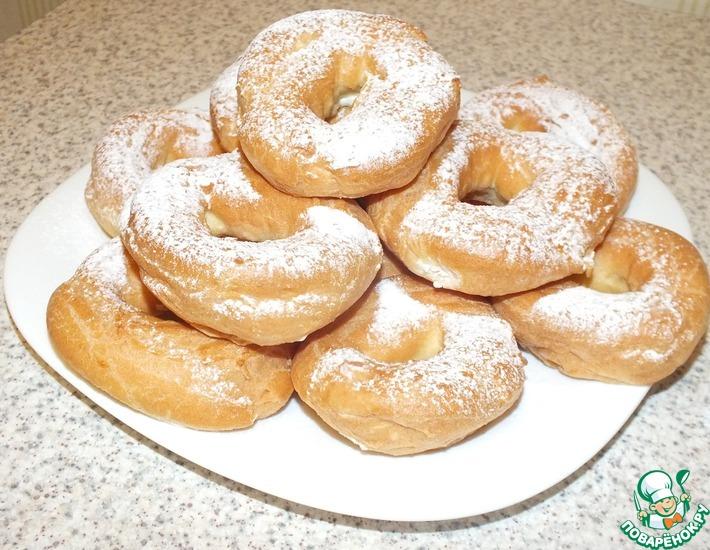 Заварные пирожные с кремом из рикотты