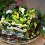 Салат с легким