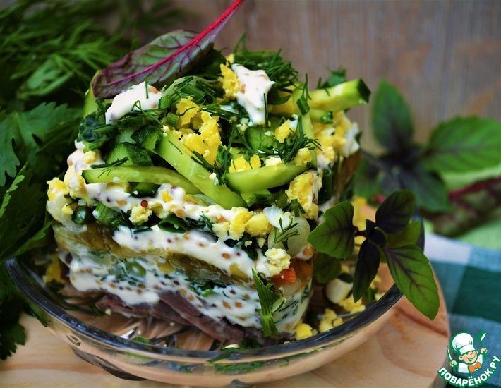 Рецепт: Салат с легким