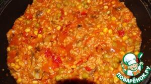 """Приятного аппетита!   Быстро, но как говорил легендарный Аркадий Райкин - """" вкус спицифисский"""".    Теперь, """"овощи с рисом"""" можно взять, на пикник, на дачу ранней весной, на охоту, на рыбалку, подать к столу, даже на праздничный обед или ужин, только тогда поизобретайте с дизайном на тарелке"""