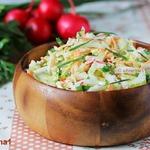 Полезный салат Коулсло с горчичной заправкой