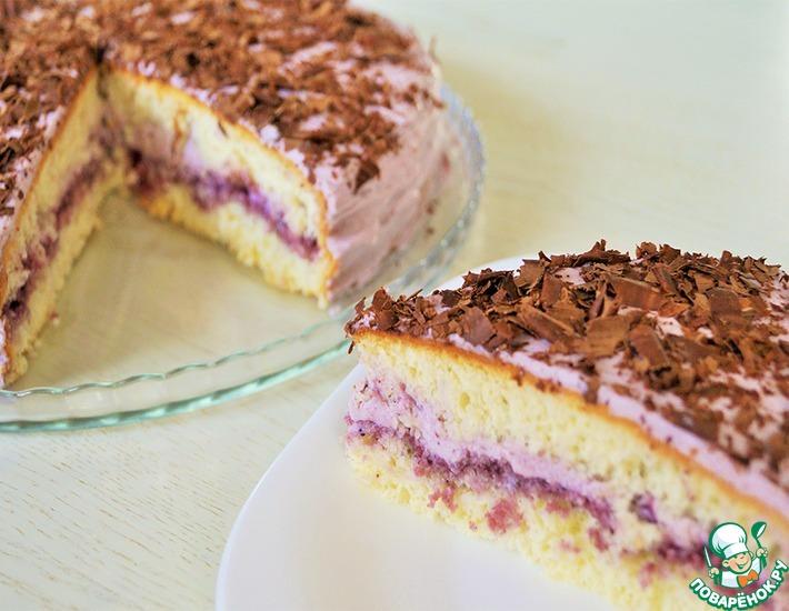 """Рецепт : Бисквитный торт карамель """""""