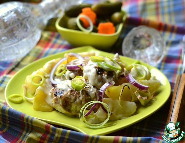 Рецепт: Тефтели, запеченные в соусе