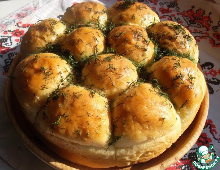 Рецепт: Пампушки «Украинские»