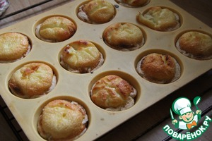 Bake at 200 degrees for about 30-40 minutes (until Golden brown)