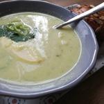 Пикантный крем-суп из цветной капусты