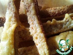 Сыр высыхает и становится хрустящим