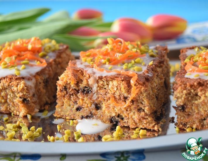 Рецепт: Шоколадно-морковный пирог