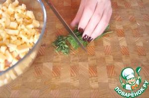Grind the herbs. Combine the ingredients