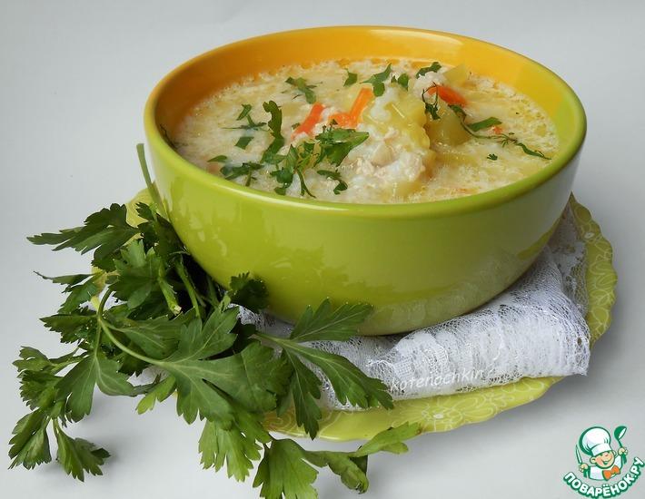 Рецепт: Суп с кабачком Мечта о лете