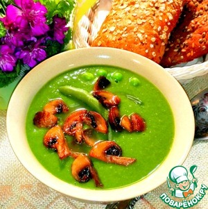 Very tasty, very hearty soup!  The taste of any soup depends on the correct  selected spices and seasonings.