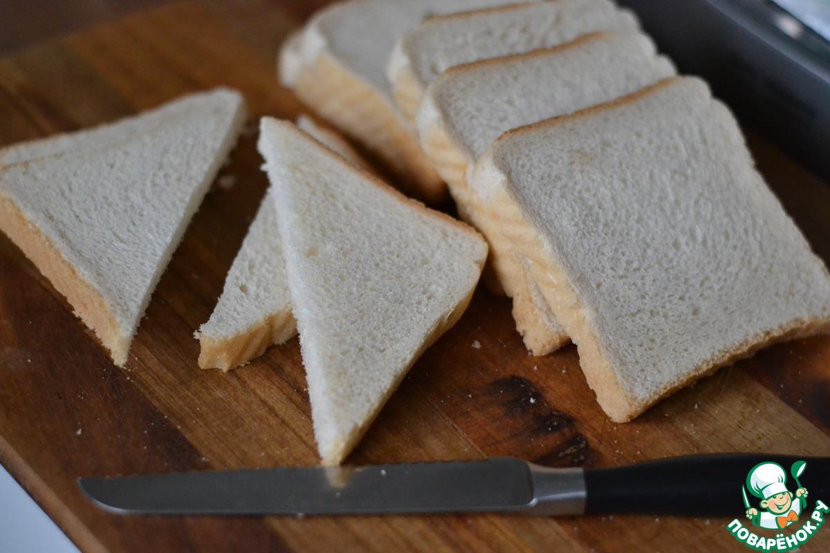Хлебная запеканка с творогом