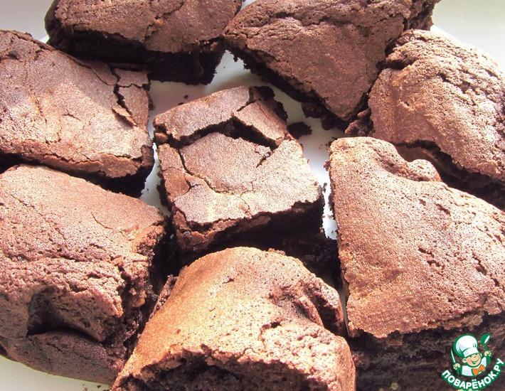 Рецепт: Шоколадный брауни с орехами