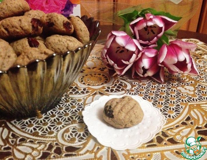 Рецепт: Гречневое печенье Русь
