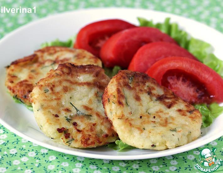 Рецепт: Картофельные биточки с сыром