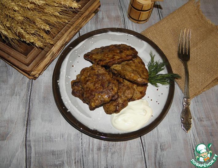 Рецепт: Котлеты из куриной печени