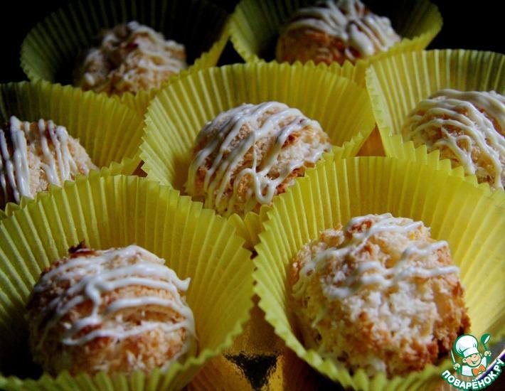 Рецепт: Лимонно-кокосовые макарунс