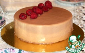 Pour the cake passagem and decorate to Your taste. Gently transfer to a plate or dish.