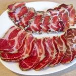 Ветчина сыровяленая из свиной шейки