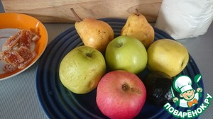 Fruits should be washed thoroughly.  If they are shopping - it is better to rinse them with hot stream to wash away the wax film.