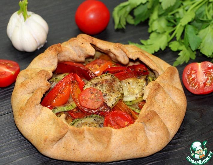 Рецепт: Галета с овощами Лето в лукошке