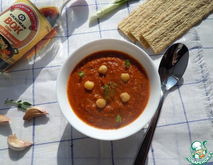 Рецепт: Постный суп-пюре на томатном соке