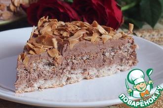 Рецепт: Шведский миндальный торт