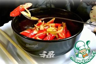 Рецепт: Маринованные крабовые палочки Корея