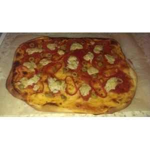 Постная пицца