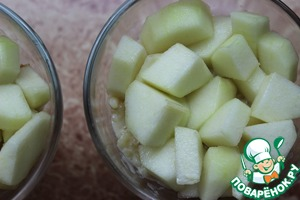5. Top the pear slices.