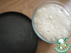The dough is ready.