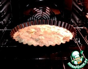 The form set bake  in a preheated oven at t 200  degrees.