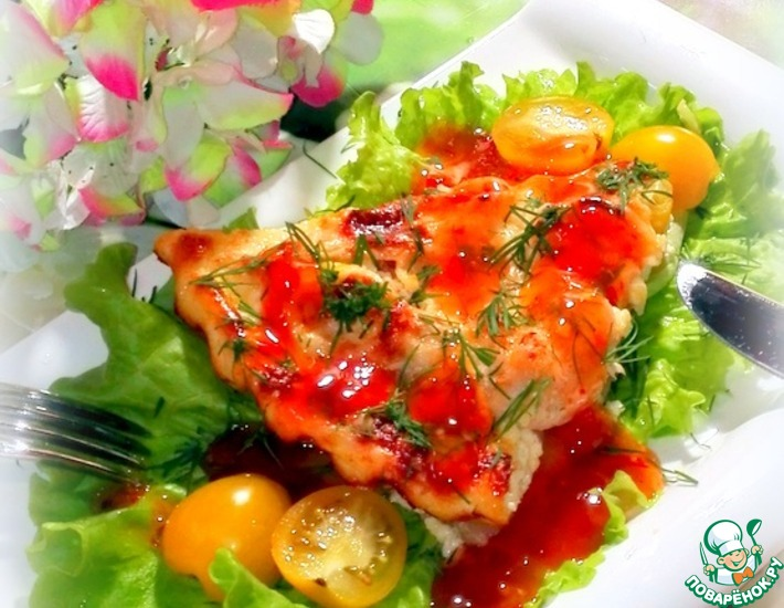 Рецепт: Запеканка с картофелем и курицей
